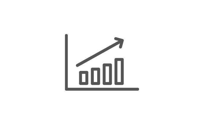 company growth graph