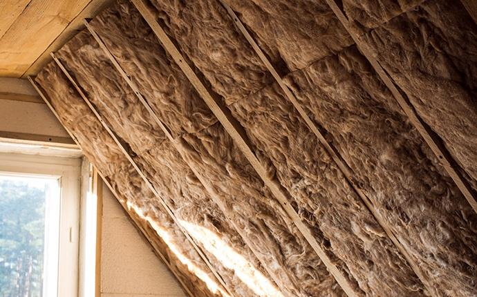 insulation in an attic