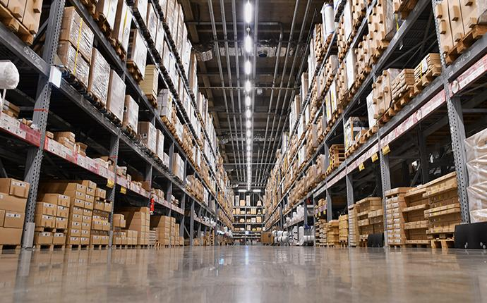 large commercial warehouse