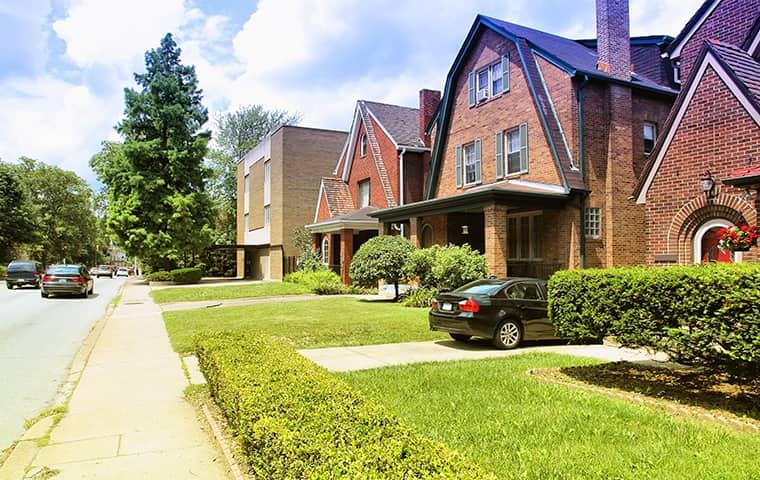 street view of a residential neighborhood in bryn mawr pennsylvania