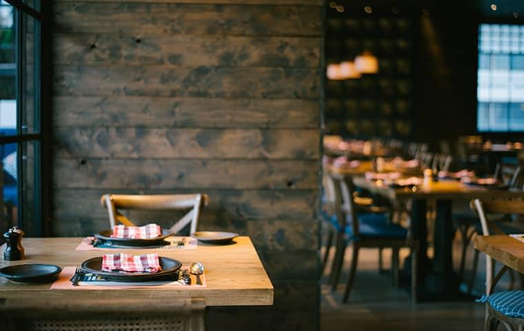 the interior of a restaurant in feasterville trevose pennsylvania