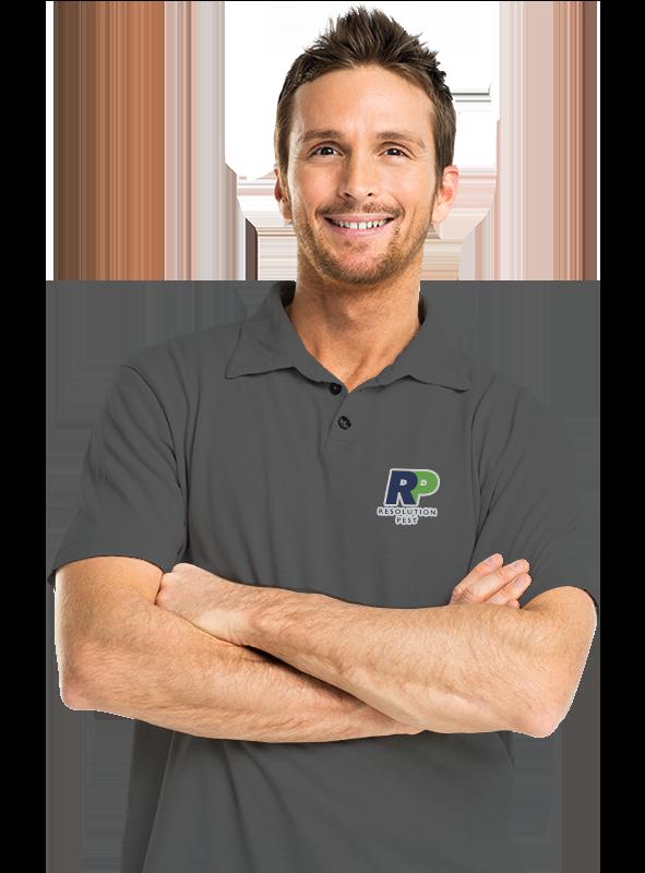 a smiling pest control technician in philadelphia pennsylvania
