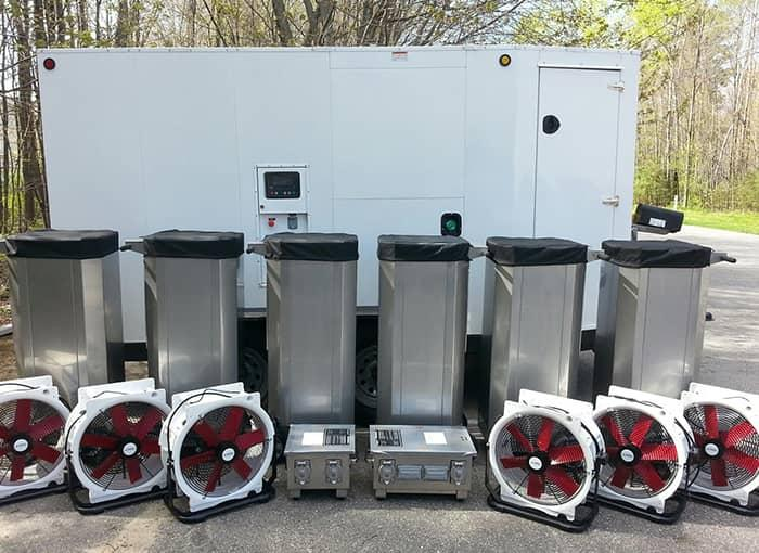 bed bug heat treatment equipment used by pros