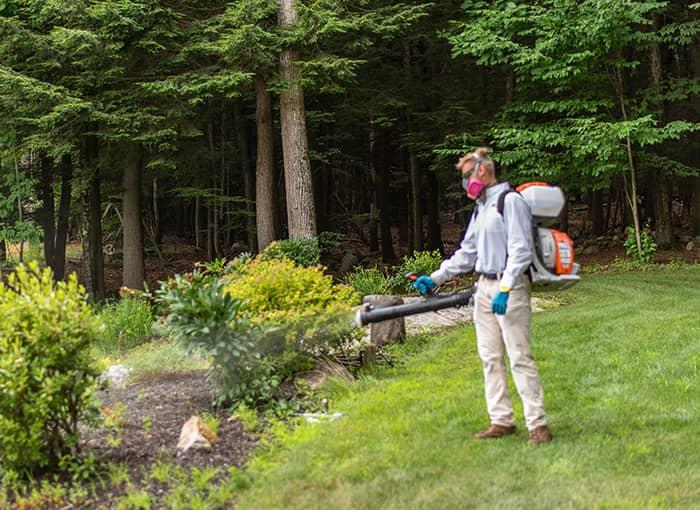 pest pro treating property for mosquitoes in maine