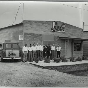 bill clark pest control team in 1965