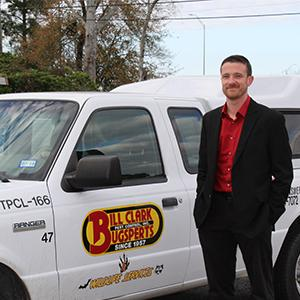josh smith, owner of bill clark pest control