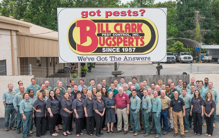 the bill clark pest control team in beaumont tx