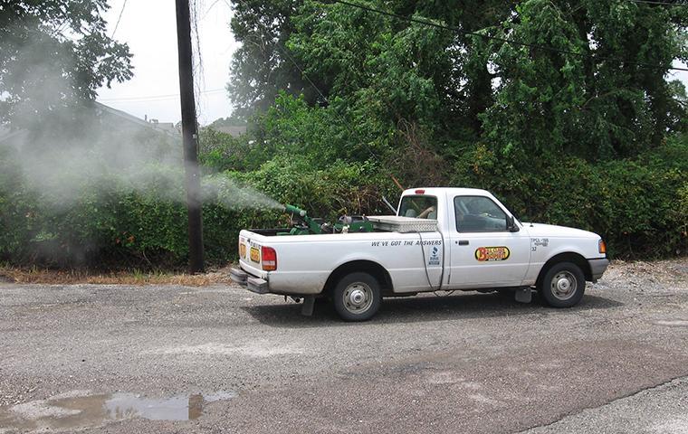 bill clark pest control mosquito fogging in southeast tx