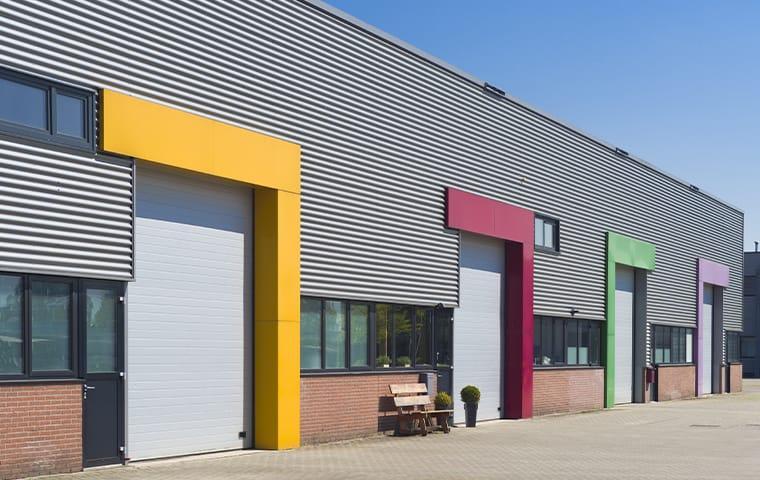 commercial warehouse exterior in newton texas