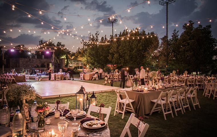 outdoor wedding in southeast texas