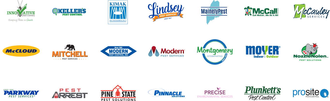 multiple logos lobster marketing has built for clients