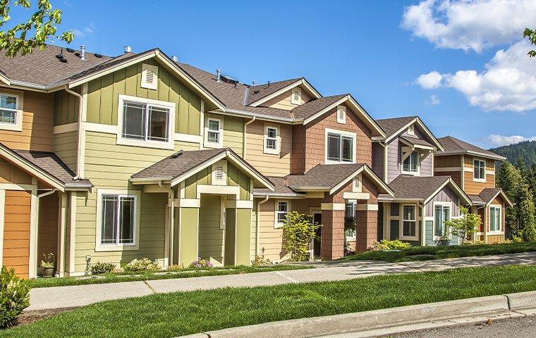 houses on a street in oklahoma city