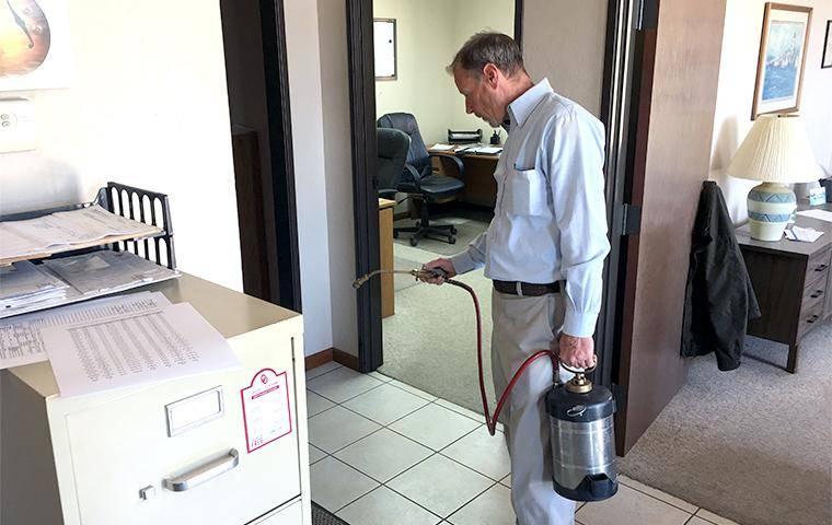technician treating the interior in oklahoma city
