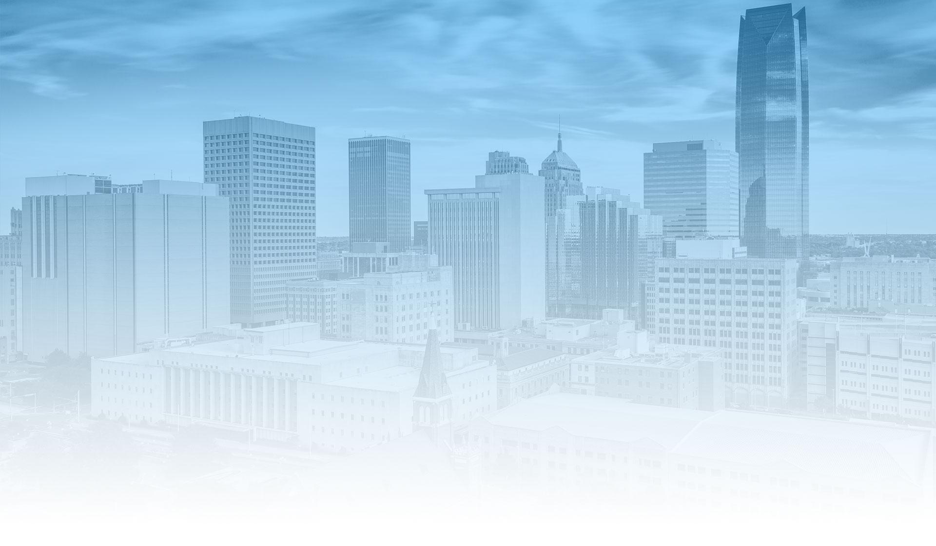 skyline view of oklahoma city