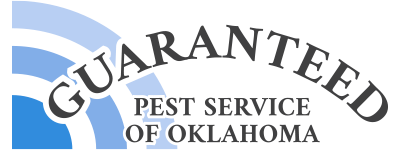 guaranteed pest service of oklahoma logo in color
