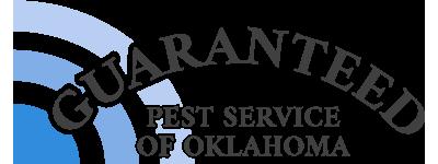 guaranteed pest service of oklahoma logo in color