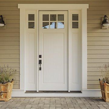 front door of a house