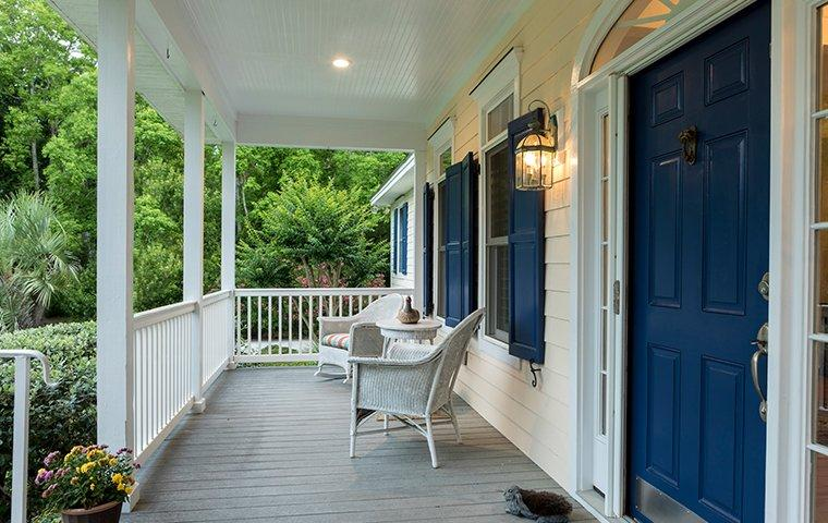 front porch of a home in madison county alabama
