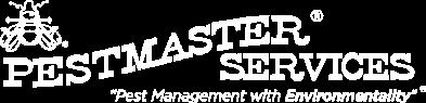 white pestmaster services logo