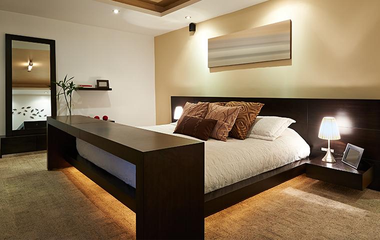 a hotel room in tecumseh kansas