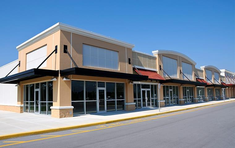 street view of a strip mall in independence missouri