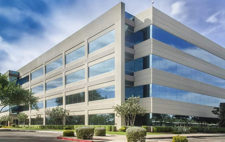 street view of a commercial office serviced by pinnacle solutions in overland park kansas