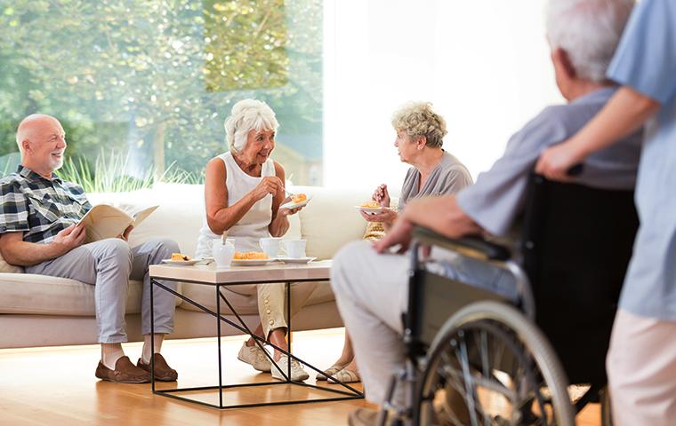residents of a nursing home in wichita kansas