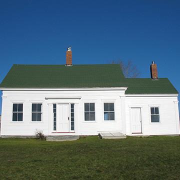 Restored Antique Island Cape