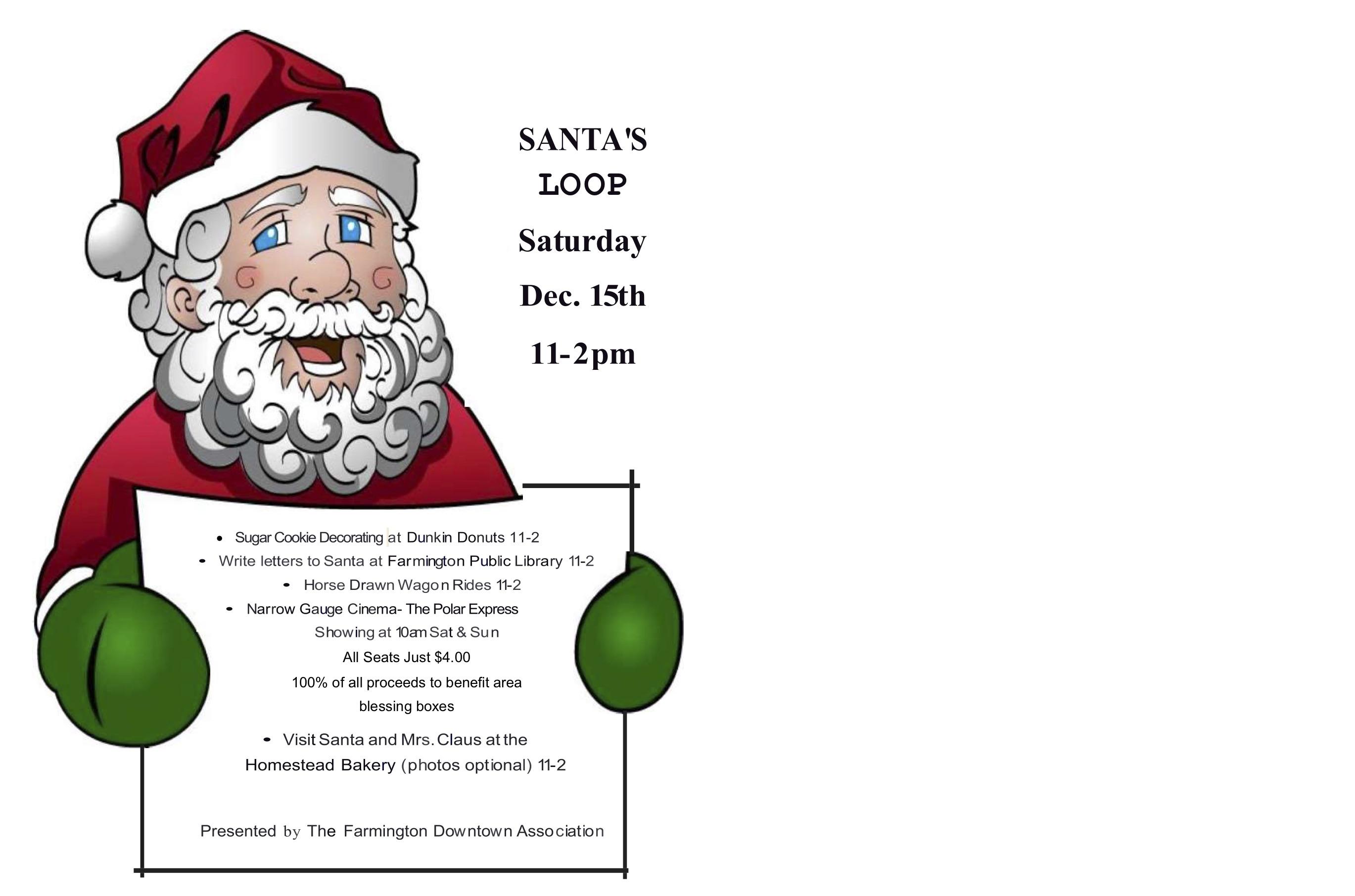 Santa Loop Poster