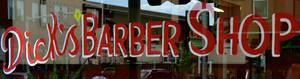 Dick's Barber Shop logo