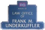 Underkuffler, Frank M., Attorney