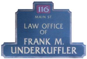 Underkuffler, Frank M., Attorney logo