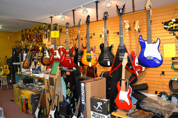 Tons of Guitars to choose from!
