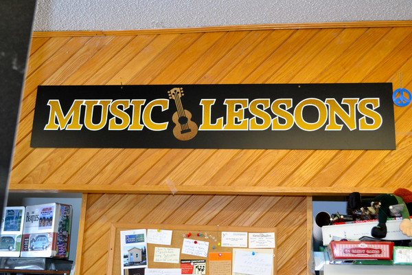 Come and learn how to play an instrument with some lessons!
