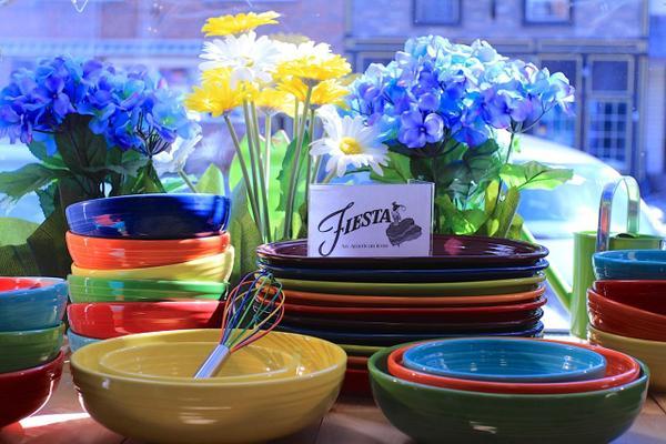 Cheerful Fiesta Dinnerware!