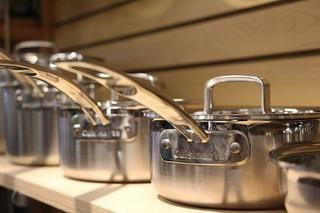 Beautiful Stainless Steel Pans