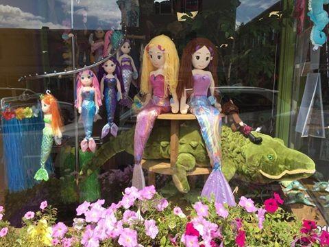 Our Mermaid Window!