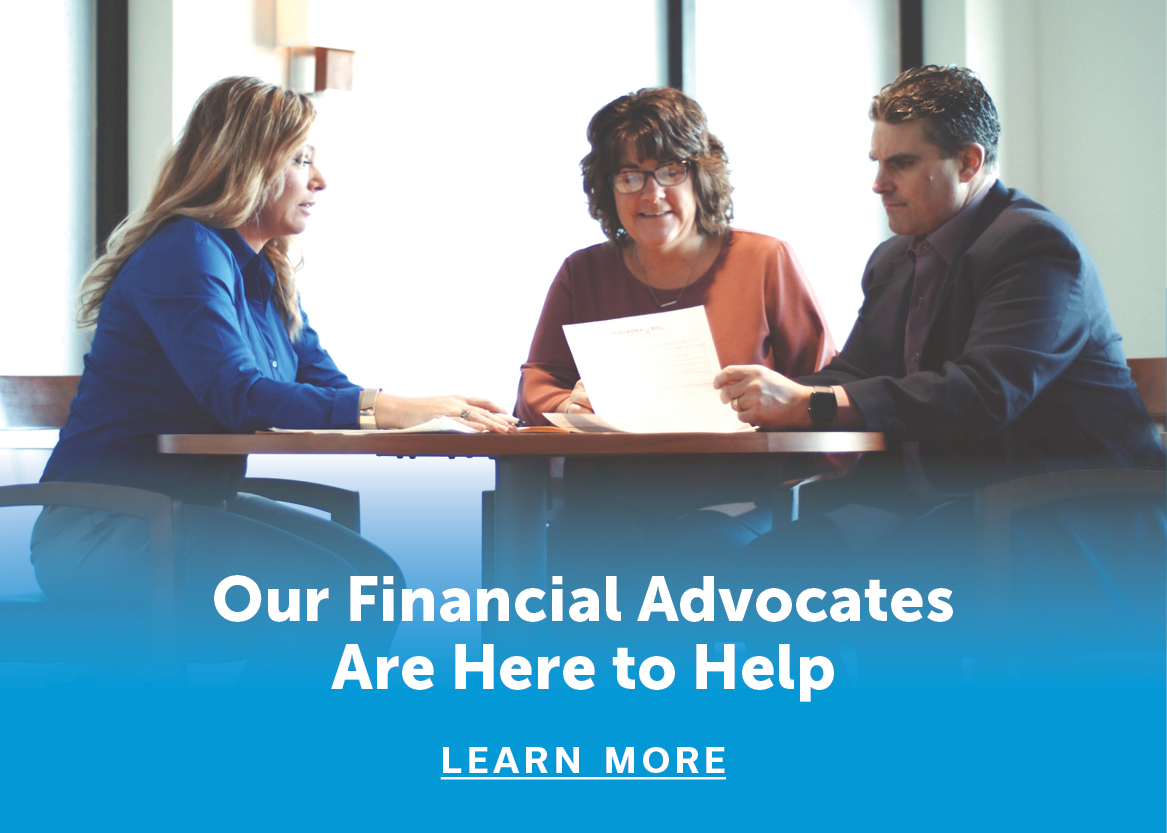 Financial advisors around a table