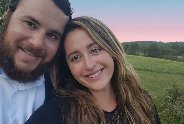 Alexandra and her husband, Ryan