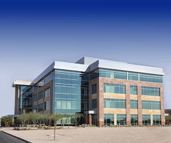 an external shot of a commercial building
