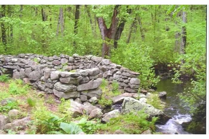 Traditional Sheep Wash Area (Credit: Avalonia Land Conservancy)
