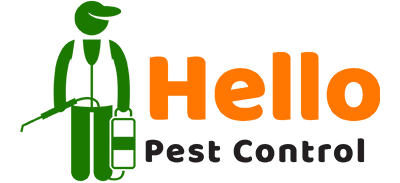 hello pest control logo