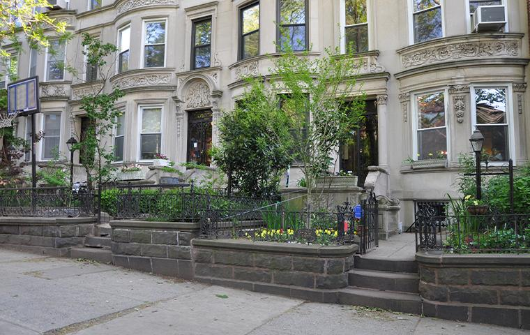exterior of home in new york