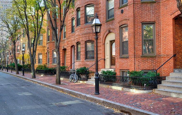 brick townhouses in boston