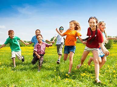 kids enjoying pest-free summer