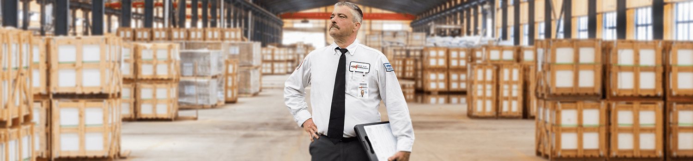 a service technician in a warehouse in joliet illinois