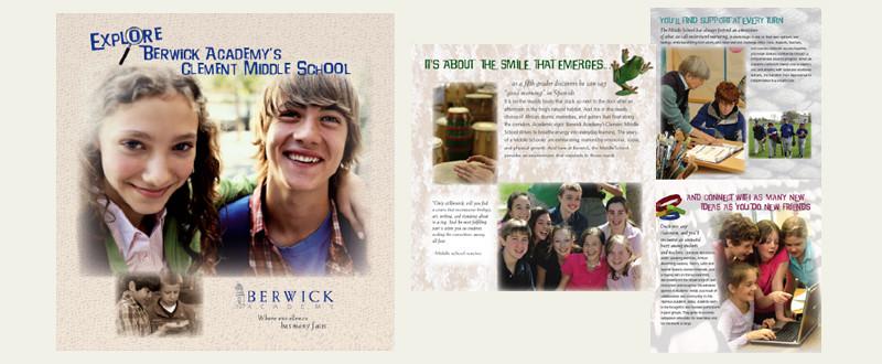 Berwick Middle School Brochure