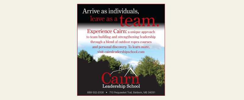 Cairn Print Ad