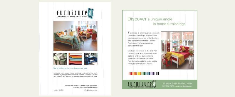 Furniturea Print Advertising