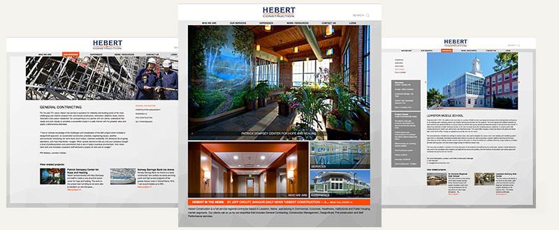 Hebert Construction Website